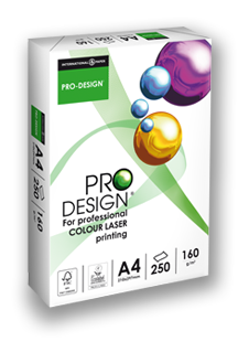 PRO DESIGN: perfect choice for colour laser printing paper